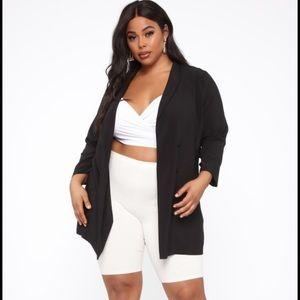 Fashion Nova Plus Size Blazer